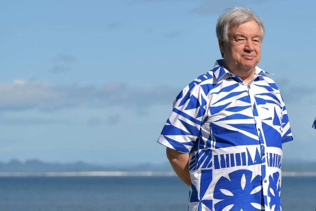 "António Guterres on Twitter: ""I am travelling to Tuvalu, a Pacific ..."
